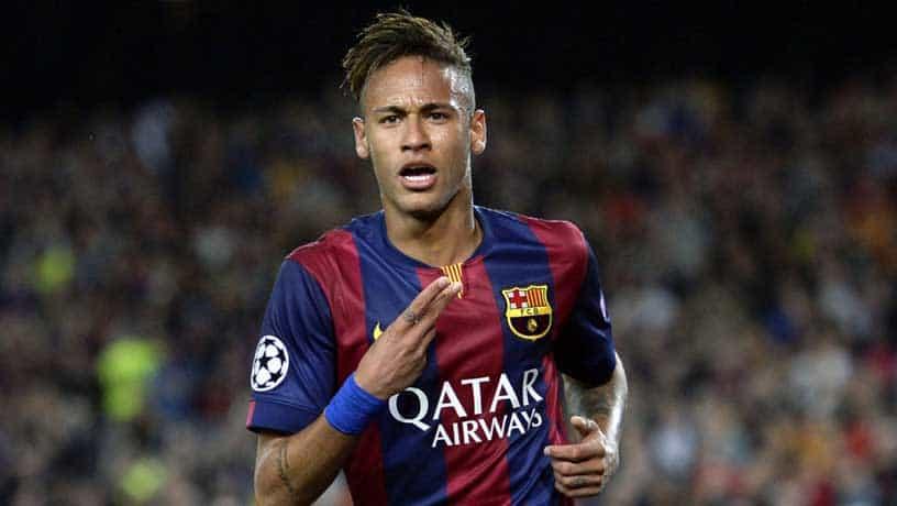 Neymar marca golaço contra a Juventus