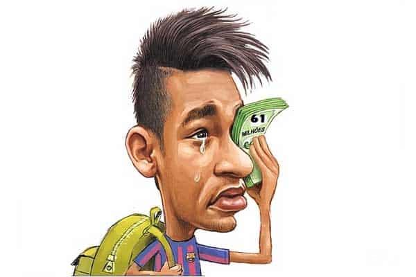 neymar dinheiro