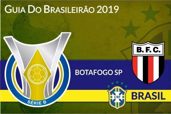 Botafogo SP 2019 - Guia do Brasileirão Serie B
