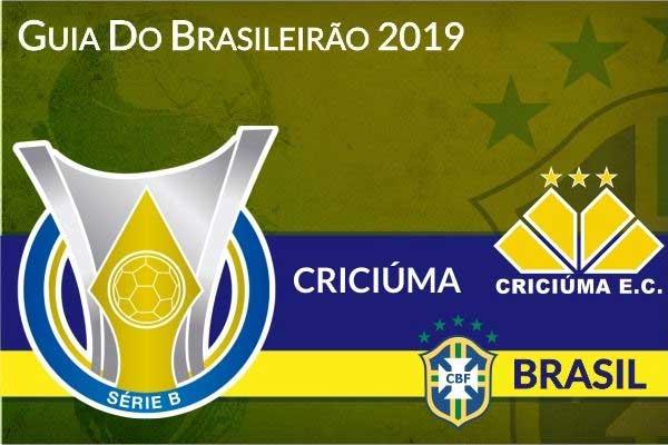 Criciuma 2019 - Guia do Brasileirão Serie B