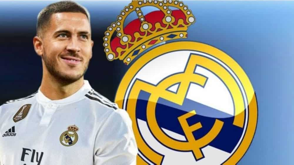 Hazard no Real Madrid