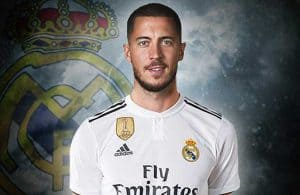 Hazard no Real Madrid