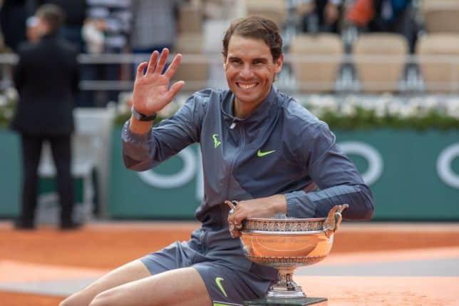 Doze vezes Rafael Nadal em Roland Garros