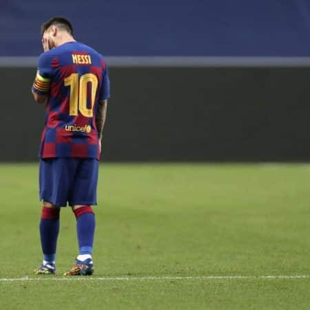 Barcelona e Messi Humilhados na Liga dos Campeões