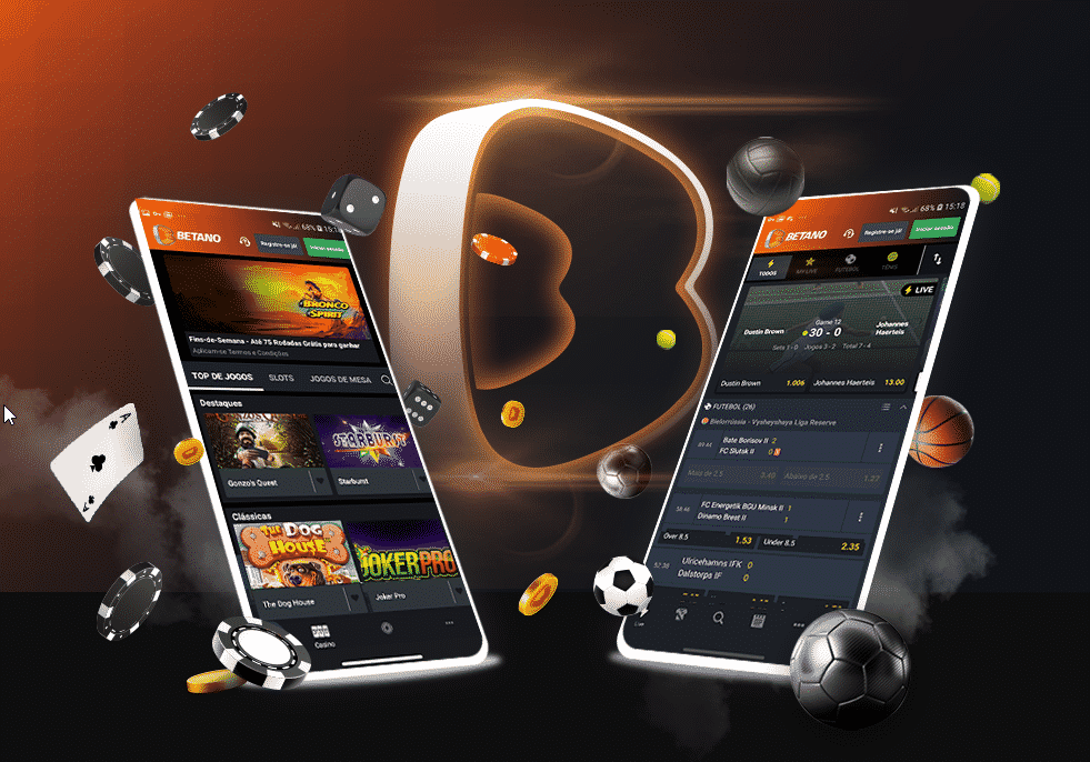 App Betano Andoid e IOS Mobile