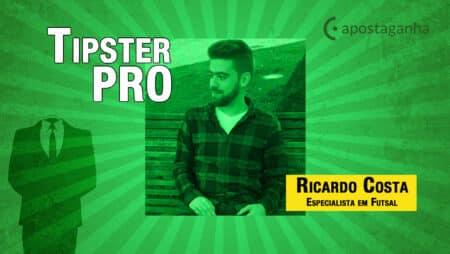 Palpites de Futsal – Ricardo Costa – 20/09/2021