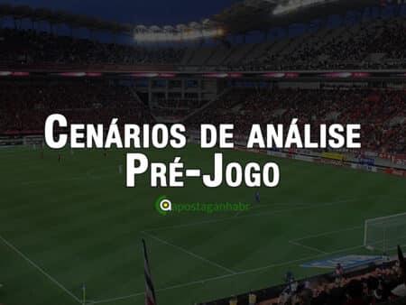 Cenários de análise pré-jogo em futebol aplicado as apostas