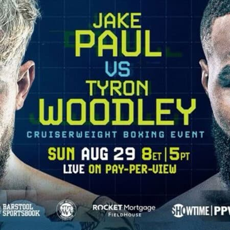 Jake Paul x Tyron Woodley – Boxe
