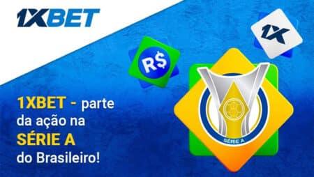 Publicidade 1xBet nos jogos da Série A do Brasileirão